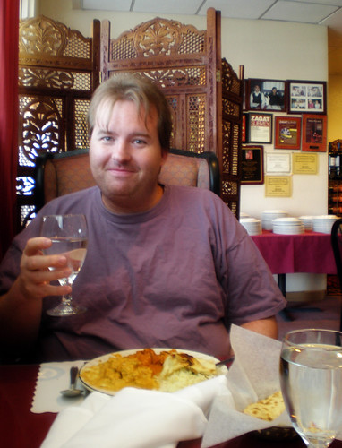 Mike at India Palace