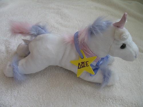 Delta Phi Epsilon Unicorn