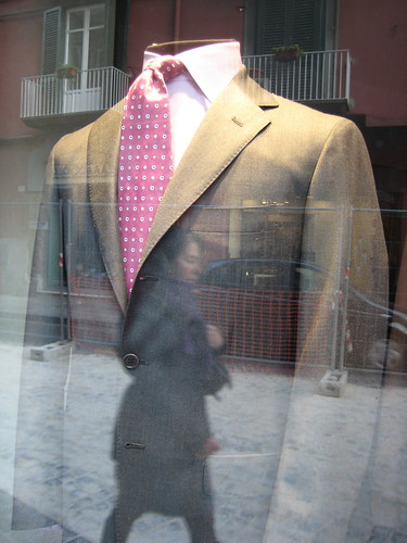 Neapolitan window display