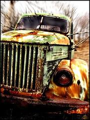Schrottkarre (sulamith.sallmann) Tags: auto car truck rust automobile estonia decay rusty 2008 verrostet challenger rostig abondoned fahrzeug estland schrott lkw xyz lastkraftwagen verkehrsmittel fortbewegungsmittel supershot viinistu sulamithsallmann abgestellt de0 theperfectphotographer trashbit verschrotted