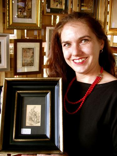 Aleta Jansen, proprietor of awesome vintage ephemera
