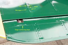 ... stitch aircraft wwi wing tape fabric ribs stitches rib ww1 tapes