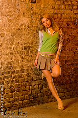 Victoria near London Bridge Station (Quoc-Huy) Tags: uk bridge urban london station fashion female model african south michelle victoria blonde modelling afsvrmicronikkor105mmf28gifed strobist nikond300 victoriagrypishyna