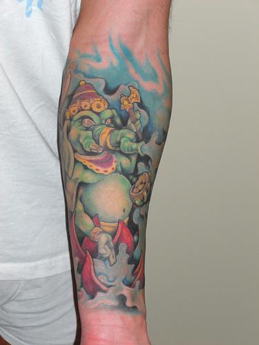 Buddha Ganesha Tattoo (Set)