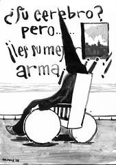 Dgt sensacional (Manuel Len Moreno) Tags: blancoynegro blackwhite kunst dibujos actualidad desenho pintura zeichnung tekening    schma tintachina  illustrazione       manuellen manuelleon manuelleonmoreno
