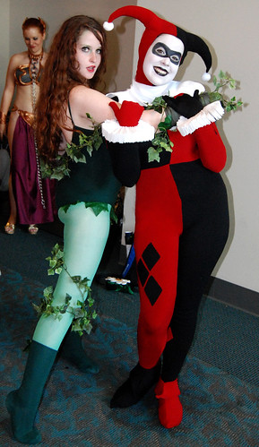 poison ivy comic. Poison Ivy and Harley Quinn
