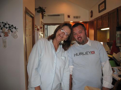Goofy Mom and Ryan - Halloween 2008