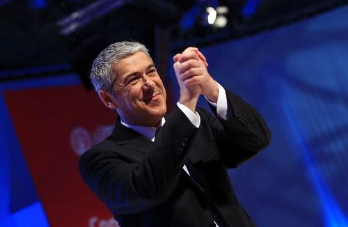 José Sócrates Viseu Primeiro Ministro Portugal