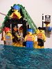 Captains seaside vila (nuo2x2) Tags: sea beach set toy toys seaside lego pirates side mini palm system pirate captain figure caribbean minifig hideout legoset legosystem nuo2x2