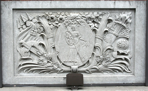A frieze from the Connor Hotel