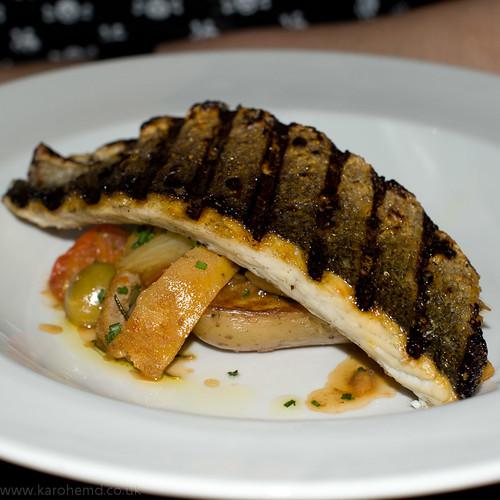 The English Pig - Sea Bass