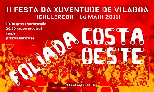 Culleredo 2011 - II Festa da Xuventude de Vilaboa - cartel