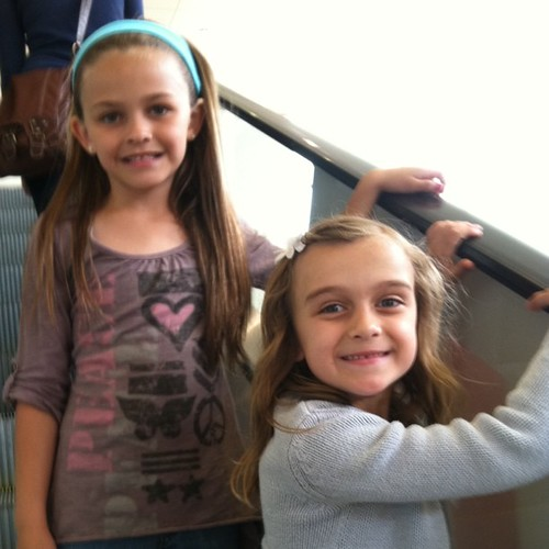 Going to see Kung Foo Panda 2 with cousin Emma.