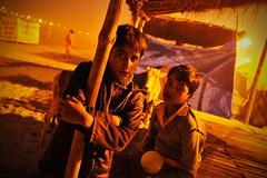 Allahabad (Leonid Plotkin) Tags: boy india boys festival children asia traditional religion ritual tradition hindu hinduism mela sangam allahabad pryag maghmela