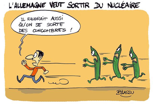L'Allemagne, le nucléaire et les concombres