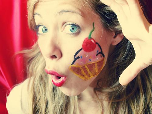 Muf Muf face painting!