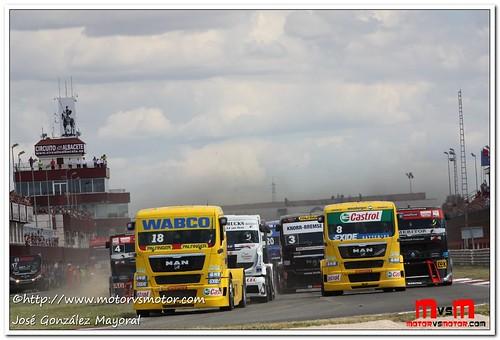 Segunda Carrera GP Camión de las Naciones-Albacete