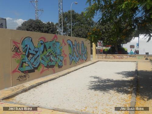 Graffiti Costa Del Sol by justblazemedia