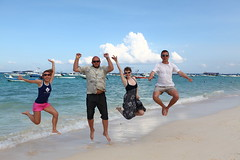 Group Jump (bukharov) Tags: summer vacation mexico playadelcarmen caribbean rivieramaya  mexicanriviera   vacationinmexico  canonef1635mmf28lii