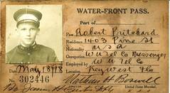 PRI302446 (Florida Keys--Public Libraries) Tags: worldwari messenger westernunion keywestfl militaryidentification waterfrontpasses historicphotograph