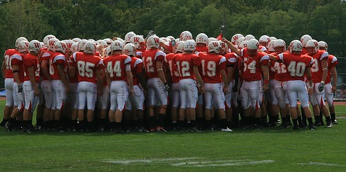 Wabash Team Huddle by badger 23