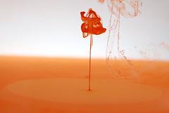 Drop 2 (árticotropical) Tags: abstract macro art nature water up closeup ink landscape flow paint chaos close god random drop drip fluid particle droplet splash pigment dreamscape dissolve evoke trickle driblet
