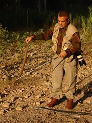 Captain Suresh Handling a Venomous Russell's Viper