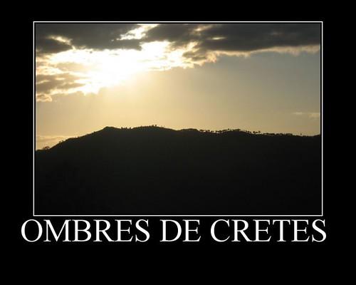 Ombre de cretes