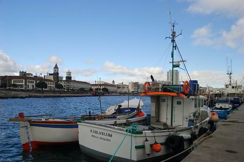 Barcos de Pesca Ponta Delgada