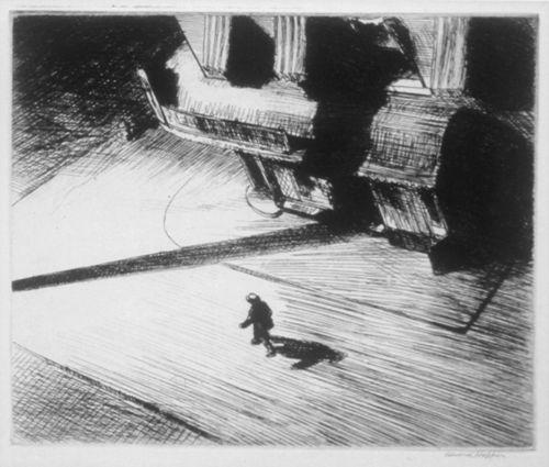 Hopper, Night Shadows