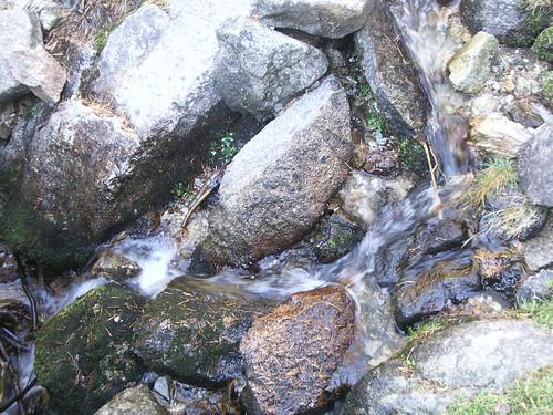Falta el relajante sonido del agua...