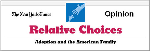 NYT Relative Choices Blog banner