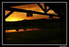 Recuerdo aquel atardecer... (NUBBA) Tags: barcelona espaa reflection water backlight contraluz landscape mar spain agua europa europe mediterranean nocturnal searchthebest paisaje catalonia reflejo nocturna catalunya catalua nuba mediterrneo espanya mywinners abigfave