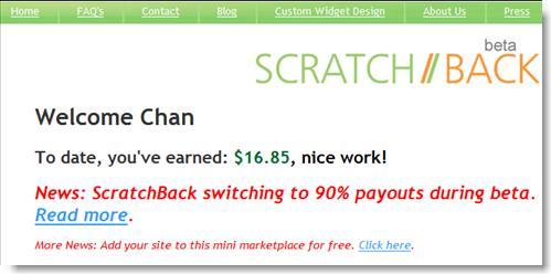 scratchback