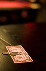 tip (richietown) Tags: money church topv111 boston canon concert bokeh dough massachusetts cash change billiards pooltable quarters 30d 50mm18 bostonist mywinners richietown wwwpatrickdunnmusiccom