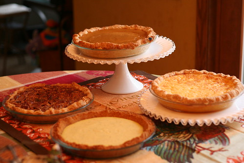 Pumpkin, Pecan, Key Lime, and Lemon Chess