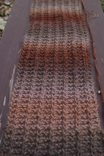 one row scarf 2