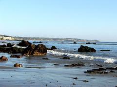 DSCF8918 (ttelfair) Tags: ocean california seascape beach landscape sand waves pacificocean beaches elmatadorstatebeach shorenature
