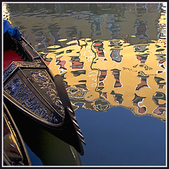 Rita Crane Photography:  Italy / Venice / gondolas / reflection / canal / beautiful / Gondola Orseolo VI, Venice (Rita Crane Photography) Tags: venice italy reflection water colors beautiful rio reflections canal italia searchthebest stock worldheritagesite explore gondola venezia gondolas italians historiccity stockphoto venicecanals gbr themoulinrouge squarephoto 500x500 laserenissima theoldport fivestarsgallery magicofvenice anawesomeshot aplusphoto superbmasterpiece diamondclassphotographer theunforgettablepictures wwwritacranestudiocom theperfectphotographer novavitanewlife