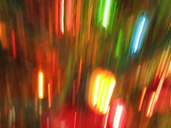 Abstract colors (rickm FL) Tags: abstract colors canon festive echo vivid powershot christmaslights canons3 coolestphotographers themacrogroup