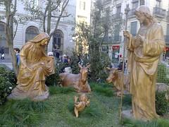 Pessebre Plaa Sant Jaume 2007 (daniel.julia) Tags: barcelona nadal caganer pesebre caganers proces