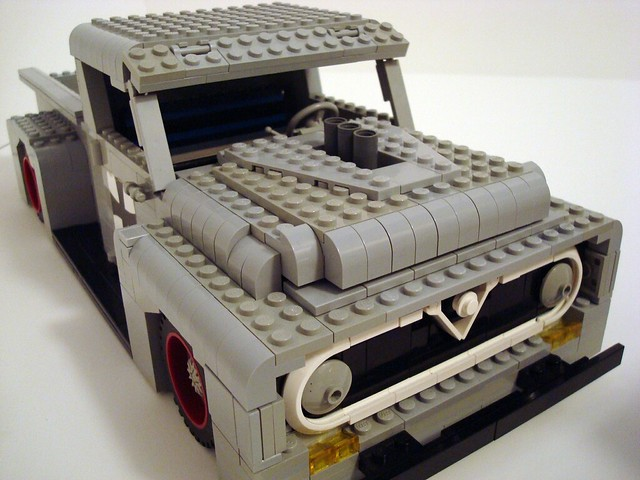 seattle city ford rat lego pickup f100 roller hotrod rod custom 55 martins challenge lino lugnuts ratrod ratcity 55ford
