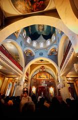 St Mary Coptic Orthodox Church (Christopher Chan) Tags: travel church canon northafrica egypt middleeast christian cairo orthodox stmary 1022mm coptic 30d saintmary zeitoun zeitun