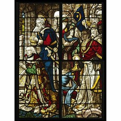 The Adoration of the Magi, Germany, about 1500. Museum no. C.74-1919, C.75-1919. Given by J. Pierpont Morgan Jnr.