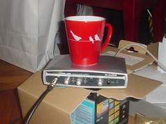 Mug and Audio input box