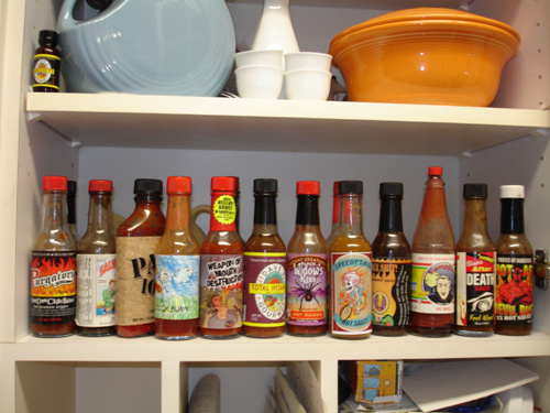 more hot sauce