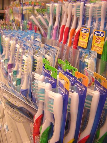 toothbrush shopping — dec 28