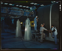 Assembling Liberator Bomber, Consolidated Aircraft Corp., Fort Worth, Texas  (LOC)