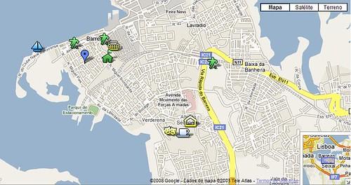 mapa de portugal barreiro Mapa Interactivo do Barreiro   Barreiro Criativo mapa de portugal barreiro