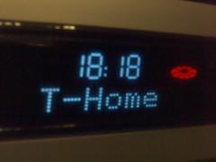 T-Home Uhrzeit